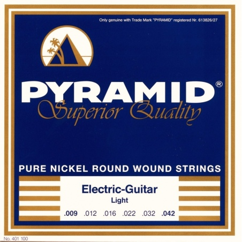PYRAMID 401100 NICKEL-PLATED .009-.042