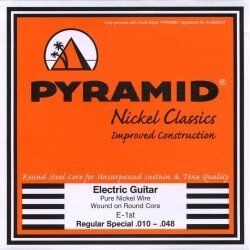 PYRAMID 451455 PURE NICKEL RC .010-.048