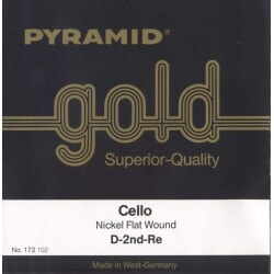 PYRAMID 173100 GOLD CELLO