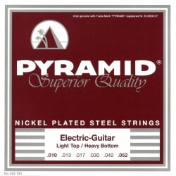 PYRAMID 432100 NICKEL-PLATED .010-.052