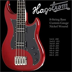 HAGSTROM HS HBS-8 STRUNY DO...