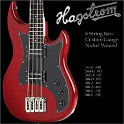 HAGSTROM HS HBS-8 STRUNY DO...