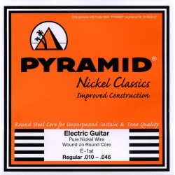 PYRAMID 451100 PURE NICKEL RC .010-.046