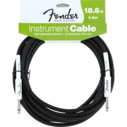 FENDER 18.6 INST CBL BLK