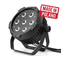 FLASH LED PAR 64 7X10 W...
