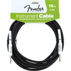 FENDER 15 INST CBL BLK