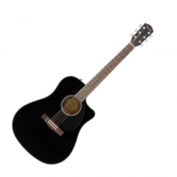 FENDER CD-60SCE WN BLK