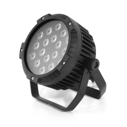 FLASH LED PAR 64 18x10W...
