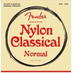 FENDER 130 NYLON CLR/SLVR...