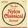 FENDER 130 NYLON CLR/SLVR BALL END STRUNY GITARA KLASYCZNA