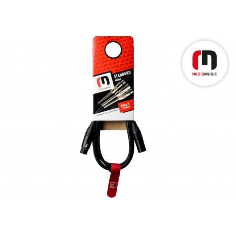 REDS MUSIC MC 11 10 BX kabel mikrofonowy 1 m