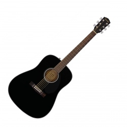 FENDER CD-60S WN BLK