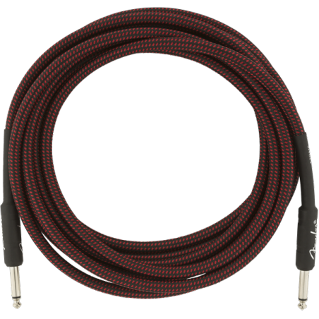 FENDER PROFESSIONAL 10 INST CABLE RED TWD