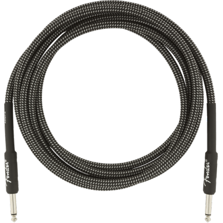 FENDER PROFESSIONAL 10 INST CABLE GRY TWD