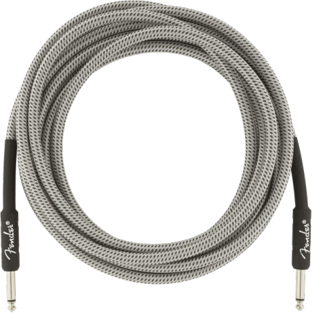 FENDER PROFESSIONAL 10 INST CABLE WHT TWD
