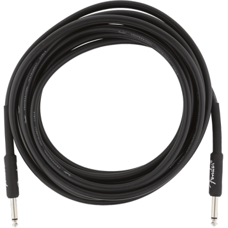FENDER PROFESSIONAL 18.6 INST CABLE BLK