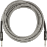 FENDER PROFESSIONAL 25 INST CABLE WHT TWD