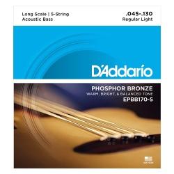 D'ADDARIO EPBB170-5 STRUNY...
