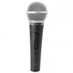 SHURE SM 58 SE mikrofon dynamiczny z włącznikiem