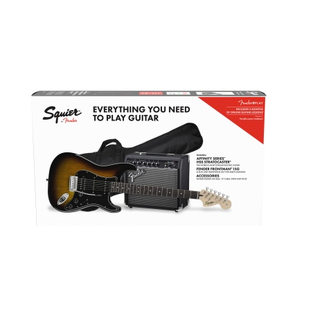 FENDER SQUIER AFFINITY PACK STRATOCASTER HSS BSB