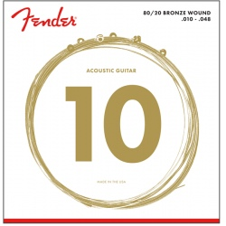 FENDER 70XL 80/20 BRONZE 10-48