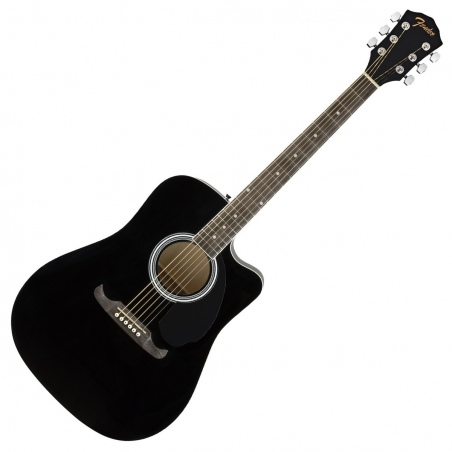 FENDER FA-125CE DREADNOUGHT WN BLACK