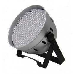 FLASH LED PAR 64 RGBW SILVER F7000021