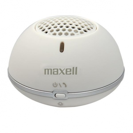 MAXELL SPKR MXSP-BT01 MINI BLUETOOTH WH - OUTLET