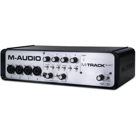 M-AUDIO M-TRACK QUAD - OUTLET