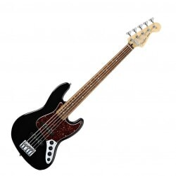 FENDER DELUXE ACTIVE JAZZ BASS V BLK
