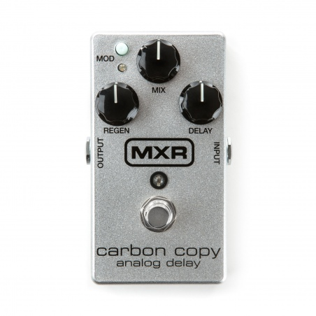 DUNLOP MXR M169A CARBON COPY ANALOG DELAY 10TH ANNIVERSARY