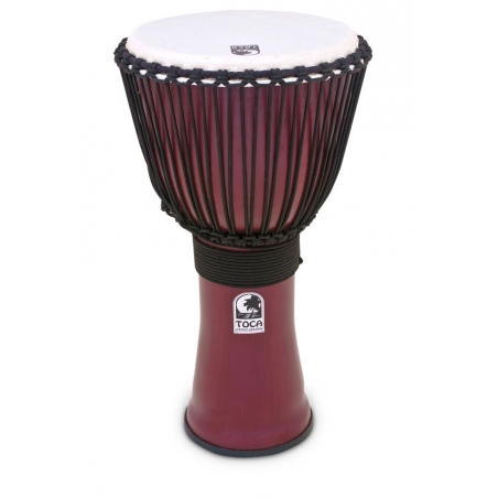 TOCA TF2DJ-12R DJEMBE DARK RED
