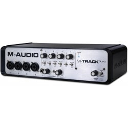 M-AUDIO M-TRACK QUAD - OUTLET