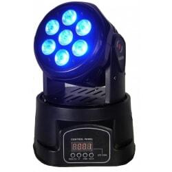 FLASH GŁOWICA RUCHOMA LED 7x10W RGBW 4w1