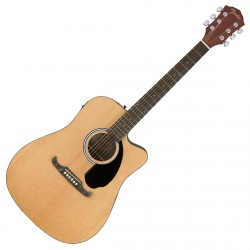 FENDER FA-125CE DREADNOUGHT...