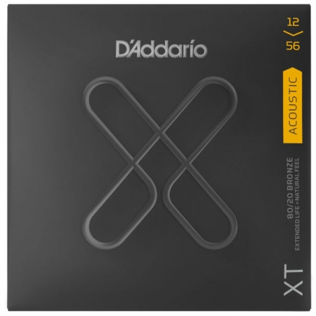 D'ADDARIO XTABR1256 STRUNY GITARA AKUSTYCZNA