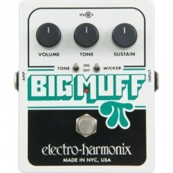 ELECTRO HARMONIX BIG MUFF W/TONE WICKER