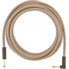 FENDER 18,6 ANGLE CABLE PURE HEMP NATURAL KABEL INSTRUMENTALNY 5,5M