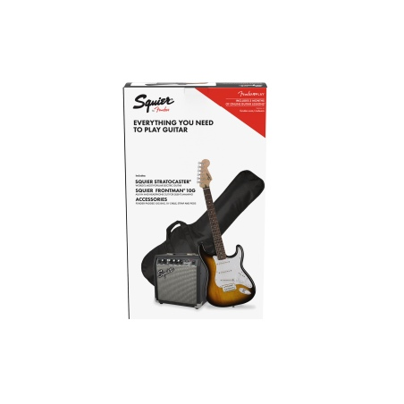 FENDER PACK SQUIER STRATOCASTER BSB GB 10G