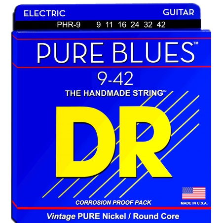 DR PHR 9-42 PURE BLUES STRUNY GITARA ELEKTRYCZNA