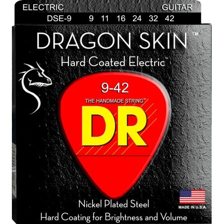 DR DSE 9-42 DRAGON SKIN STRUNY GITARA ELEKTRYCZNA