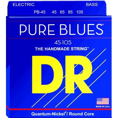 DR PB 45-105 PURE BLUES BASS STRUNY GITARA BASOWA