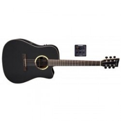 VGS DREADNOUGHT B-10 CE Bayou Satin Black