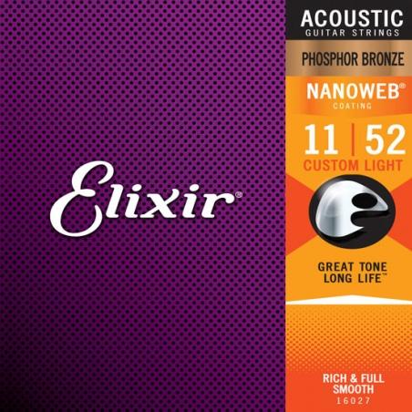 ELIXIR APN1152 16027 - STRUNY DO GITARY AKUSTYCZNEJ