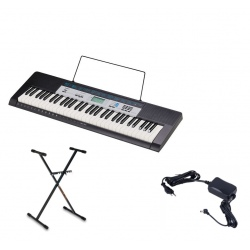 CASIO CTK-1550 KEYBOARD +...