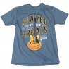 GIBSON PLAYED BY THE GREATS T-SHIRT (Indigo) M