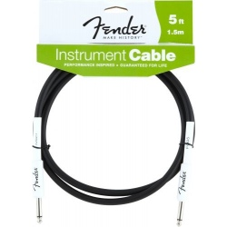 FENDER 5 INST CABLE BLK
