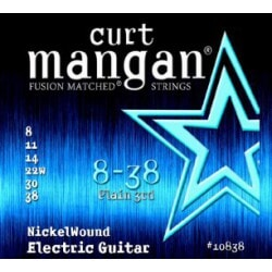 CURT MANGAN 8-38 Nickel Wound