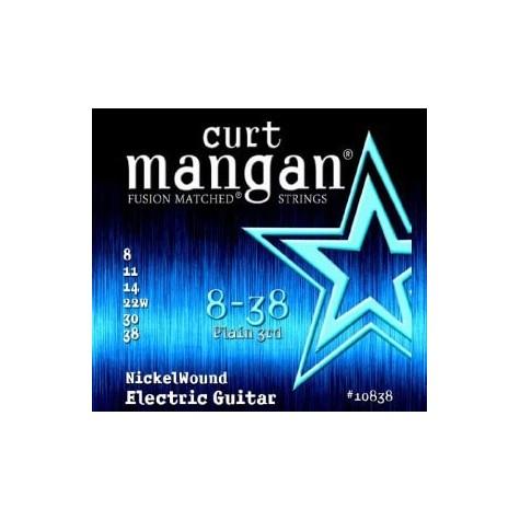 CURT MANGAN 8-38 Nickel Wound