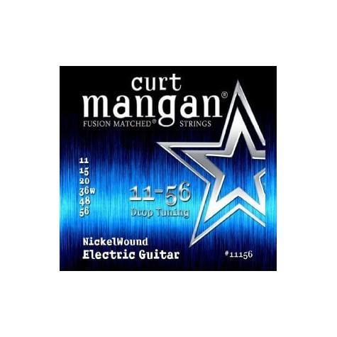 CURT MANGAN 11-56 Nickel Wound Drop Tuning
